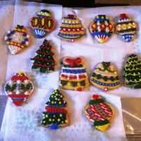 Christmas Cookies 2016 My no-fail sugar cookies that failed, (visit the forums). They tasted scrumptious so I decorated with only with royal icing and gave them...