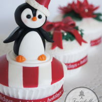 Christmas Fun Bringing some Christmas cheer to the the festive season. https://www.facebook.com/pages/Tastefully-Yours-Cake-Art/299140846945084 &nbsp...