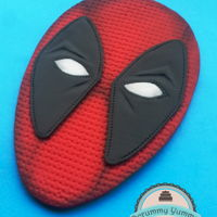 Deadpool Topper   I created three versions of Deadpool mask and I am really glad of result