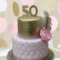 Fifty - 50 !   3 beautiful cakes . Happy 50th Birthday!