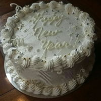 Happy New Year! cake for New Year's Eve