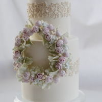 Love Is Air... Flower garland and lace...