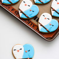 Lovebird Cookies lovebird cookies - buttery sugar cookies decorated with royal icing
