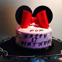 Minnie Theme Minnie Theme Cake