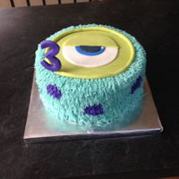 Monsters Inc. Monsters Inc. Birthday Cake