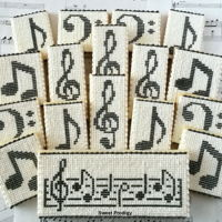 Musical Notes | Sweet Prodigy These are royal icing needlepoint cookies