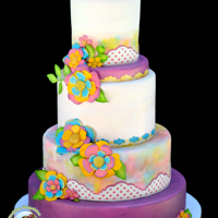 Pops Of Color When Icing Images asks you to create something over the top colorful using their entire line of products this is just one result. The...