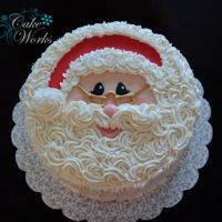 Santa Face Santa Face for Christmas Eve dessert.