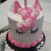 Small Unicorn Cake unicorn