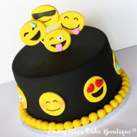 Smiley Cake Cake with smileys