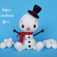Snowman Topper Tutorial