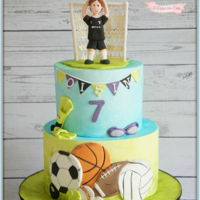Sports Balls Sports cakes