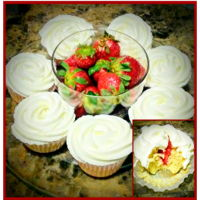 Strawberry Shortcake Cupcakes Every year for my mom's birthday, someone would buy or I would make her a strawberry shortcake. Unfortunately, she passed away 2yrs...