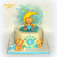 Teddy Bear Cake Cake for one year old