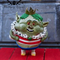 The Bergens Are Coming 3-D sculpted character (prince Bergen) from the movie Trolls!