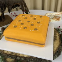 Toast Chee Peanut Butter Cracker Cake This is a funny request for a grooms cake that I had. It is chocolate pound cake with a whipped peanut butter ganache filling. The cake is...