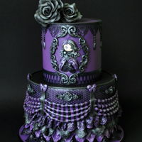 Victorian Gothic   Inspired by the amazing Sweetlake Cakes