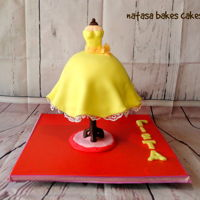 Vintage Dress Cake This is my favourite cake up to date! I really enjoyed making this..and i loved the way it turned out!! I made it for my mother and i...