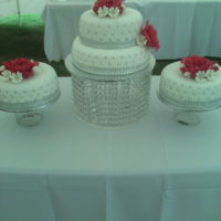 Wedding Cake Four tier traditional fruit cake