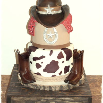 Country Cowboy Cake