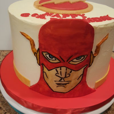 Superhero Cake Decorating Photos