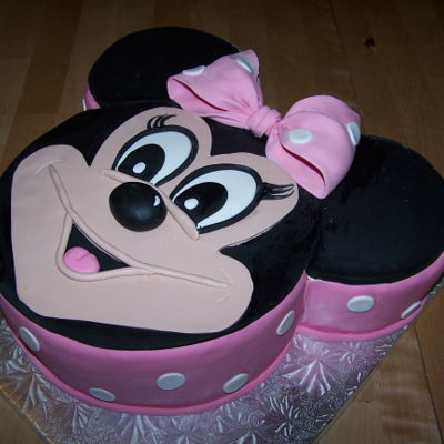Minnie mouse Cake Decorating Photos