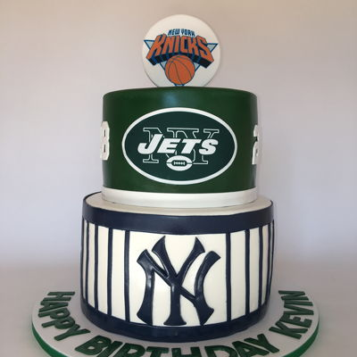 Ny Sports Birthday Cake
