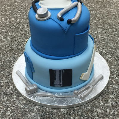 Orthopedic Surgeon Cake