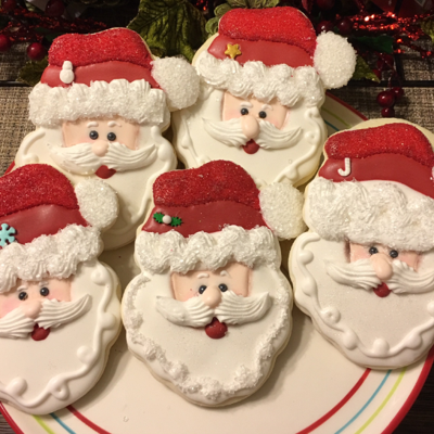 """santa Clause"" Sugar Cookies"