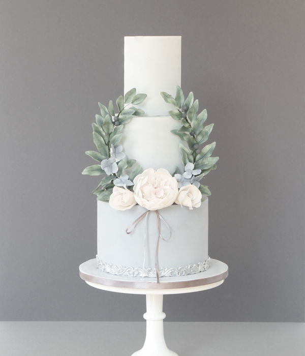 French Vintage Inspired Wedding Cake