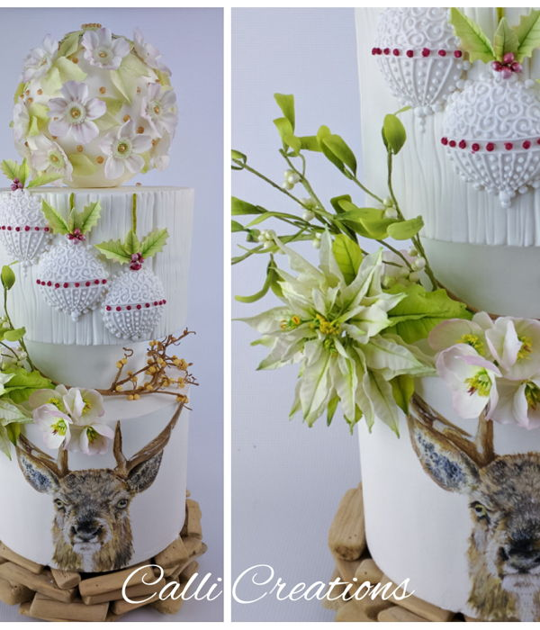 Highland Wedding Cake