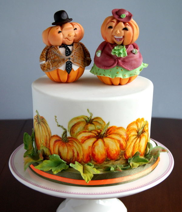 Mr. And Mrs. Pumpkin