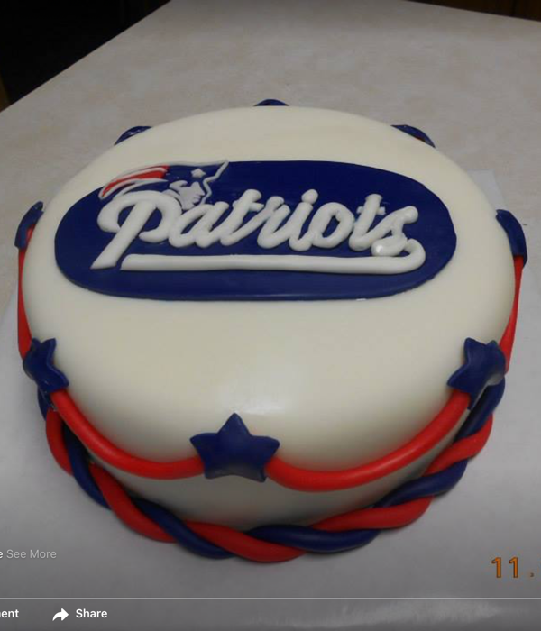 Top New England Patriots Cakes Cakecentral