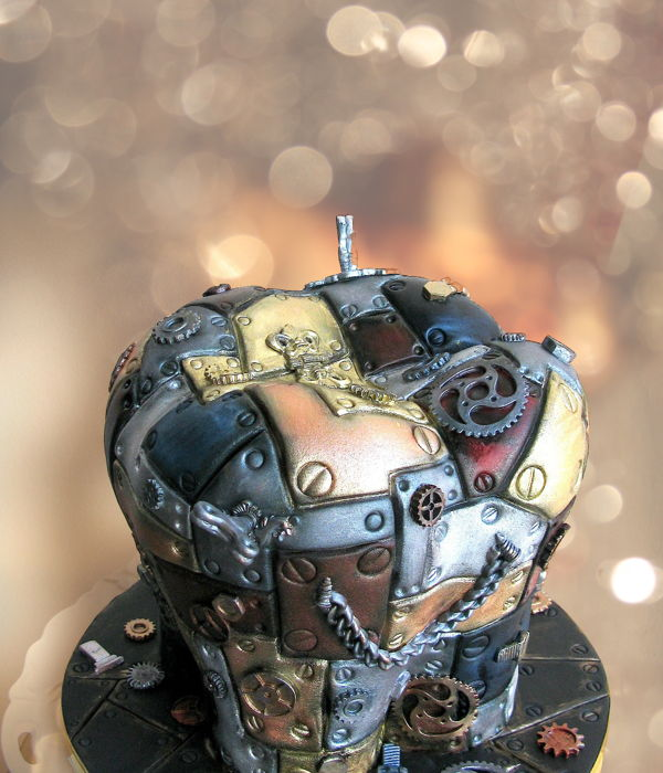 Steampunk Cake....dentists Gone Wild