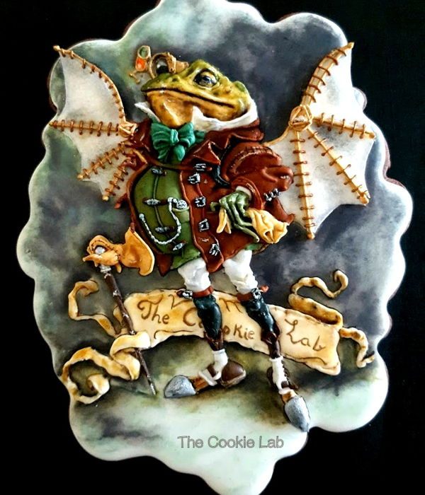 Steampunk Frog Cookie!