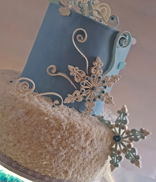Winter Fairy Tale Cake