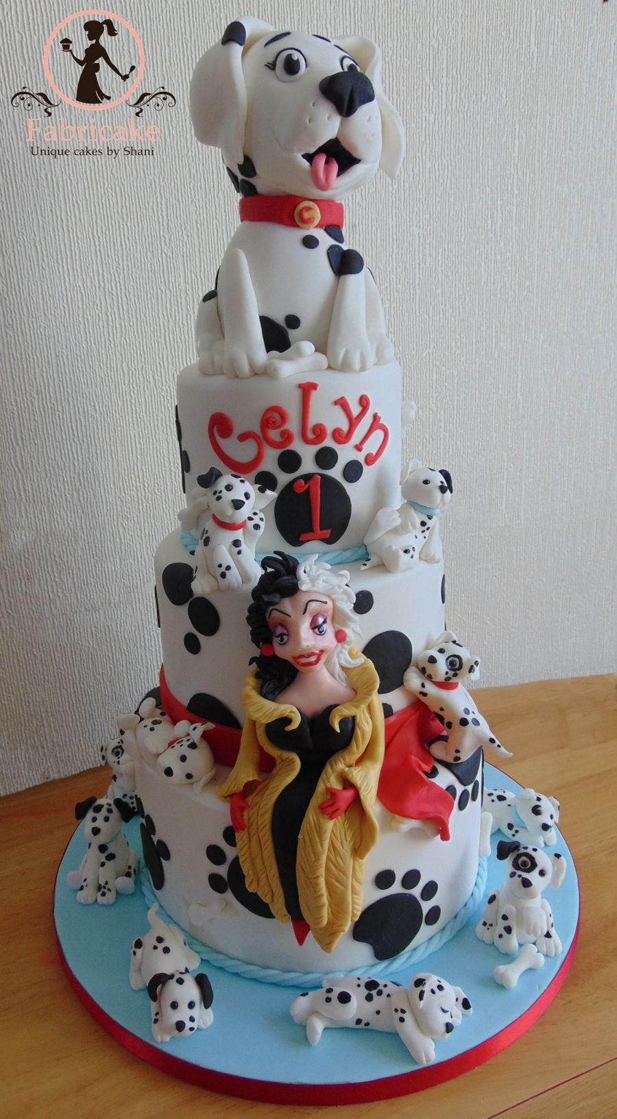 101 Dalmatians Cake Cakecentral Com