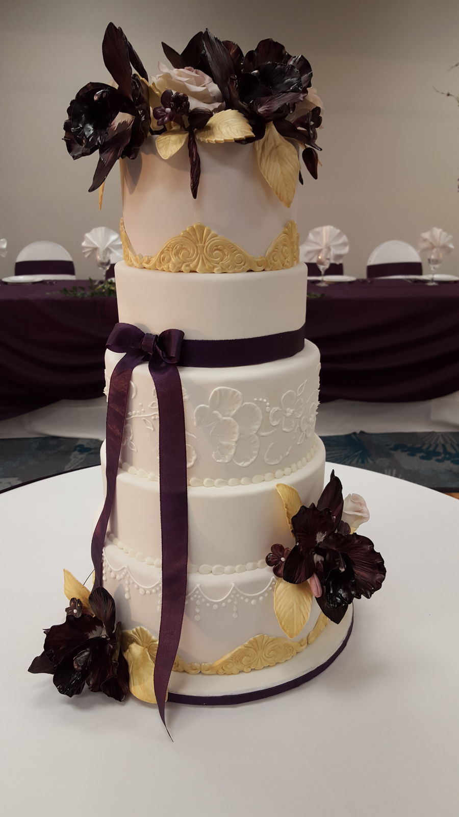 4 tier wedding cake images 4 tier wedding cake cakecentral 10399