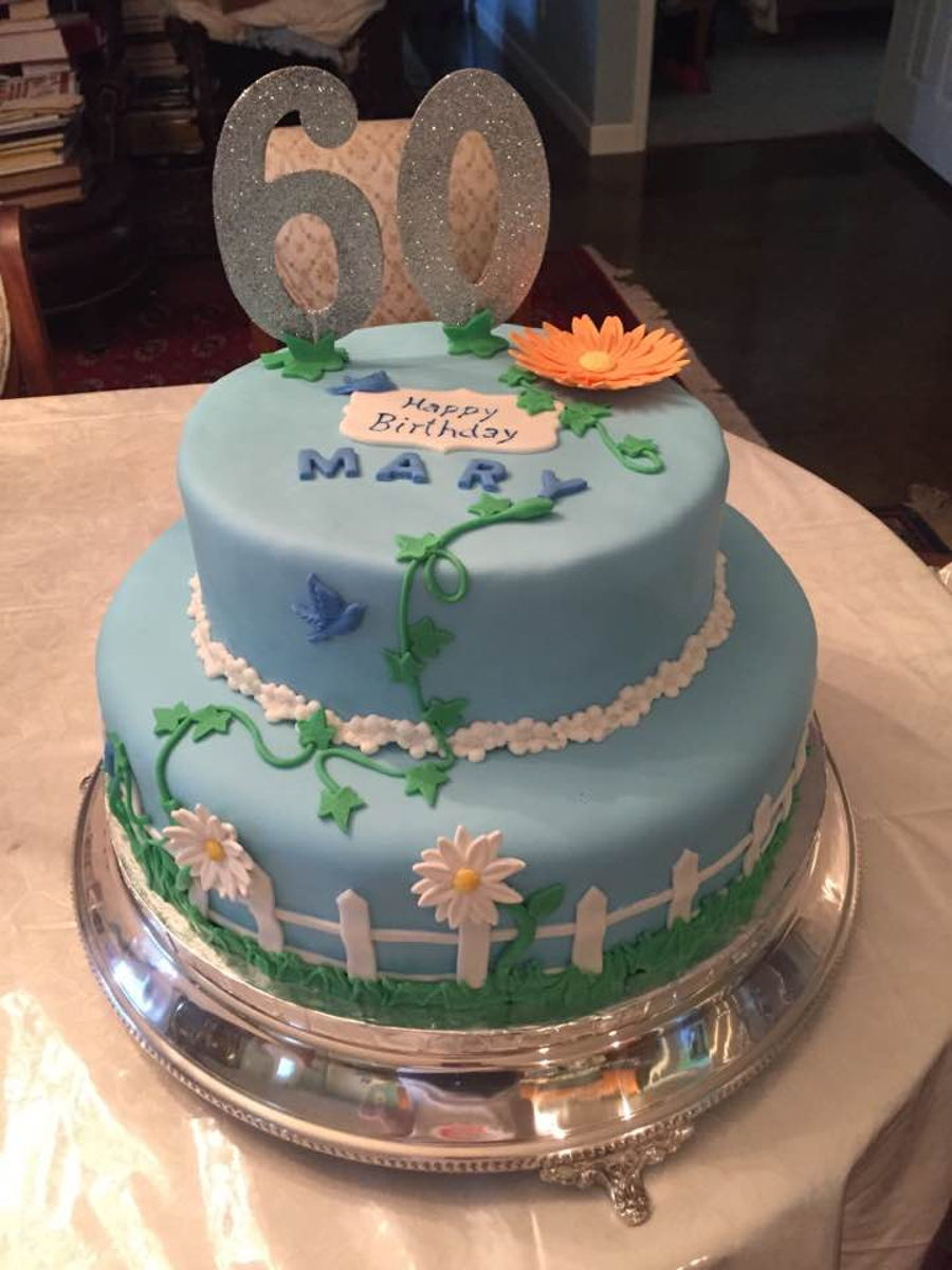 60Th Birthday Celebration on Cake Central