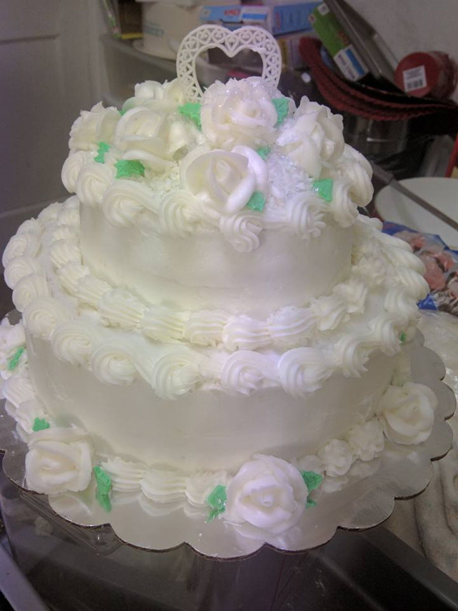 60th Wedding Anniversary Cake Cakecentralcom
