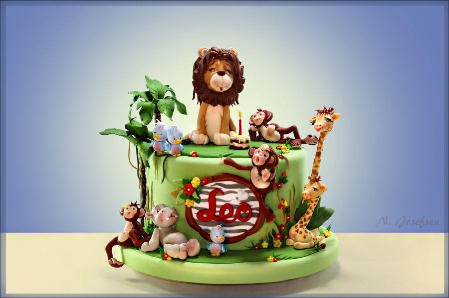 A Leo Cake Cakecentral Com