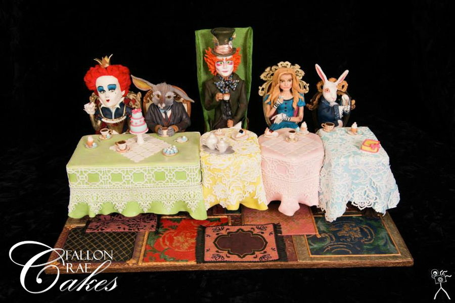 Alice In Wonderland Tea Party on Cake Central