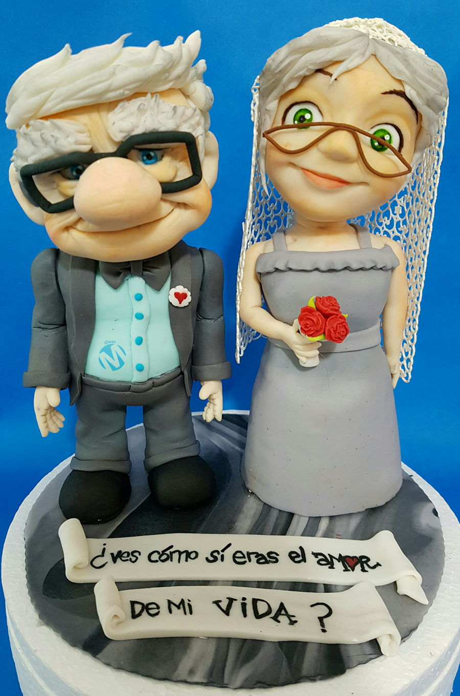 Carl And Ellie Fredricksen Up Cakecentral Com