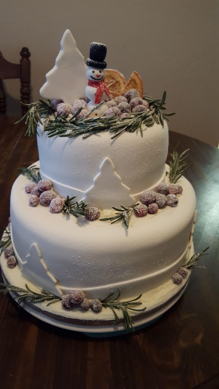 Christmas Cake Decorations Tesco : Christmas Cake - CakeCentral.com