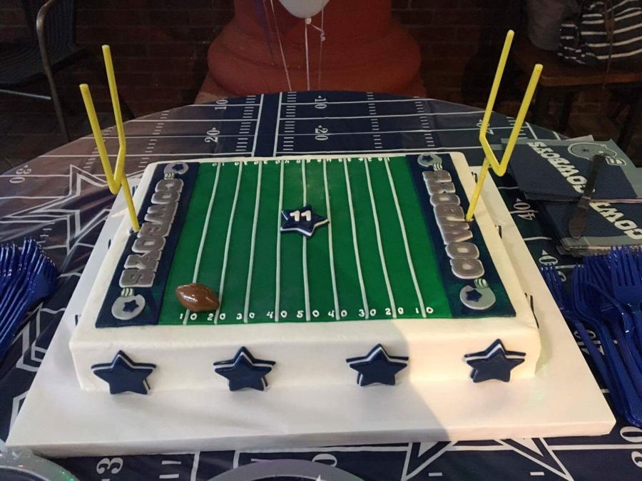 Dallas Cowboys Birthday Cake On Central