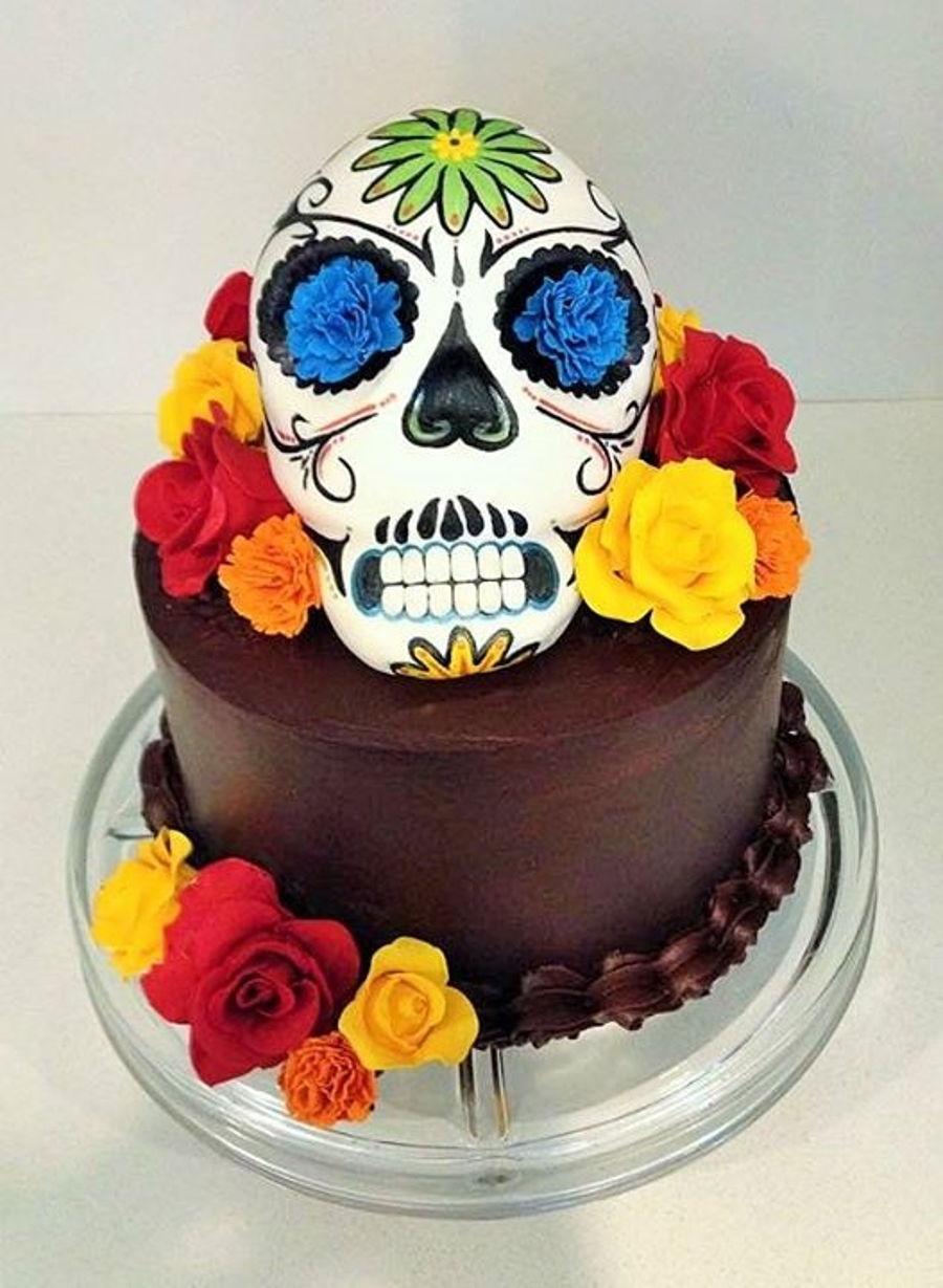 Dia De Los Muertos Cake Recipe