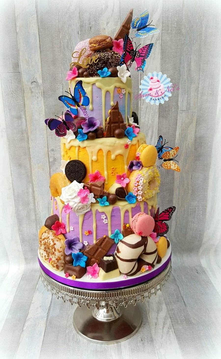 Dripping Weddingcake Cakecentral Com