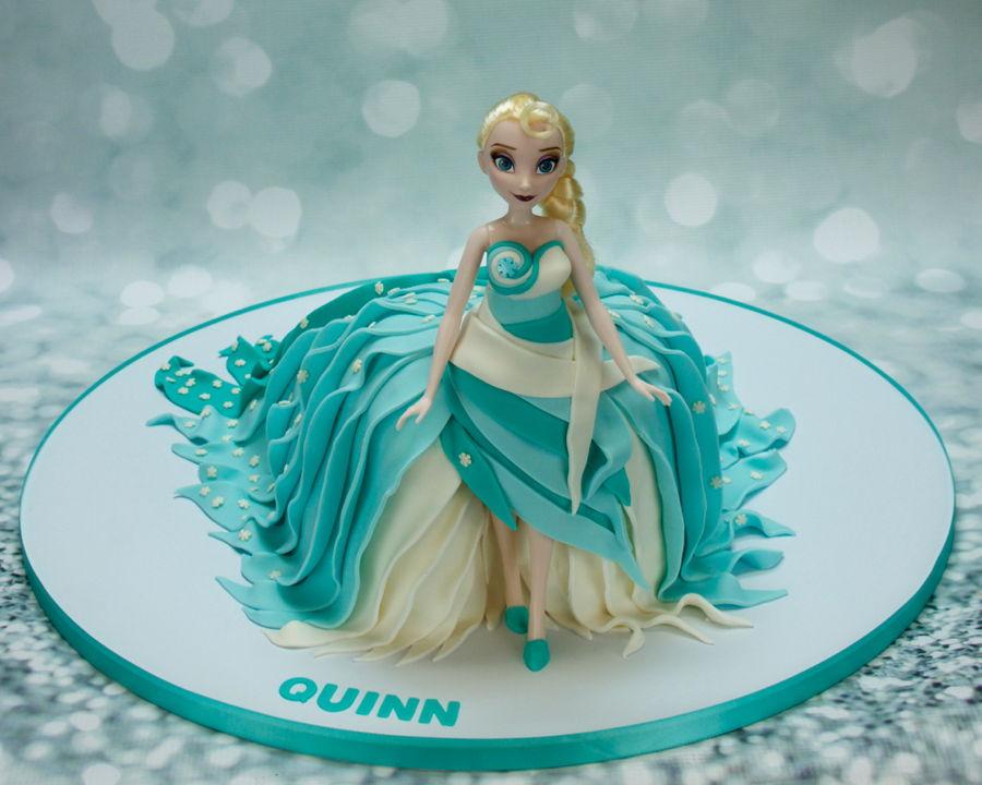 Birthday Cake Images Elsa : Elsa Birthday Cake - CakeCentral.com