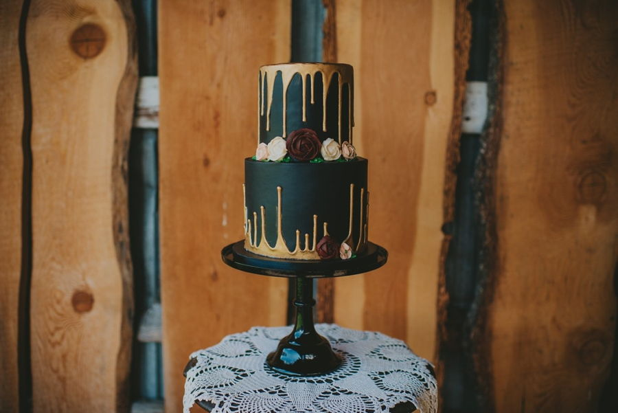 Gold Drip Cake on Cake Central