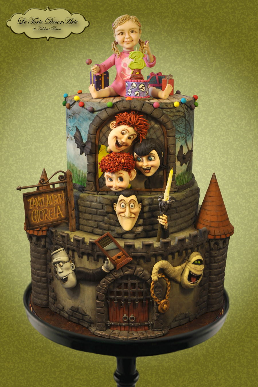Hotel Transylvania on Cake Central